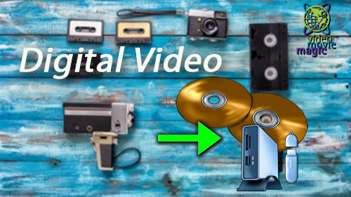 Video Movie Magic VHS to DVD Digitizing Services and Video Marketing